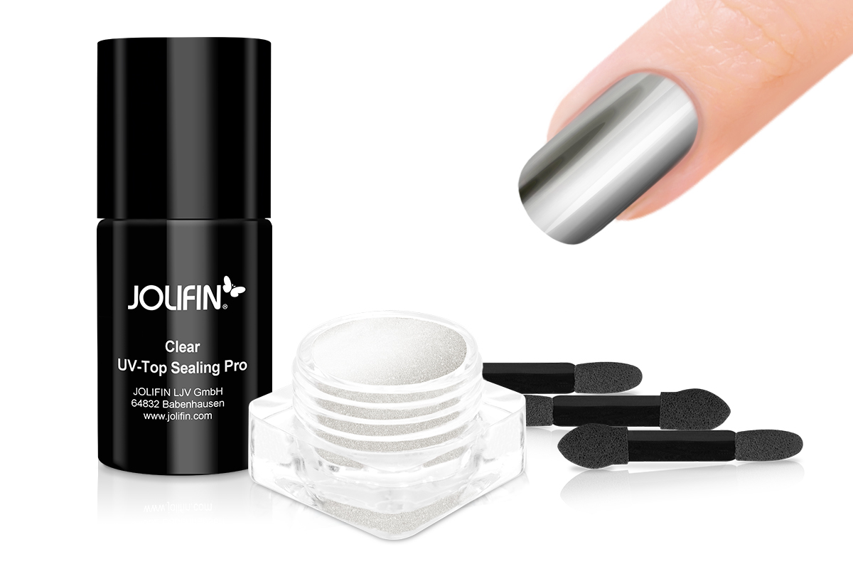 Jolifin Mirror-Chrome Pigment Set