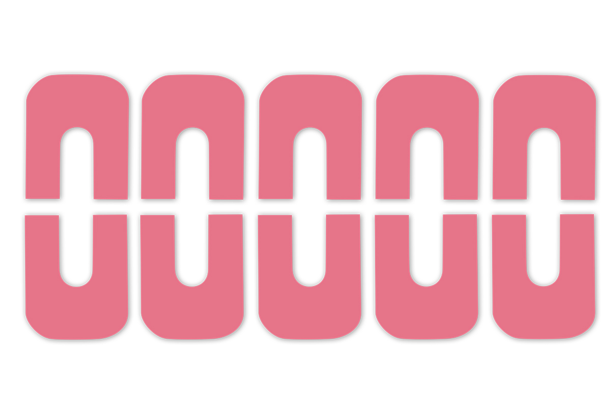 Jolifin Skin-Cover Sticker - rosa