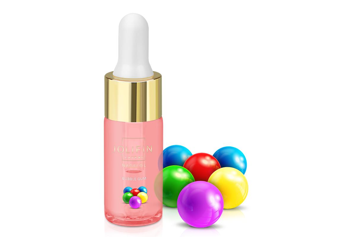 Jolifin LAVENI Nagelöl - Bubble Gum 10ml