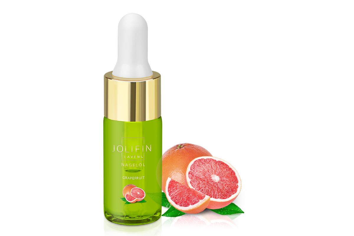 Jolifin LAVENI Nagelöl - Grapefruit 10ml