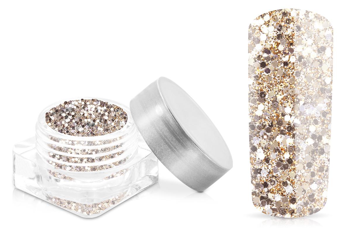 Jolifin Illusion Glitter copper glam