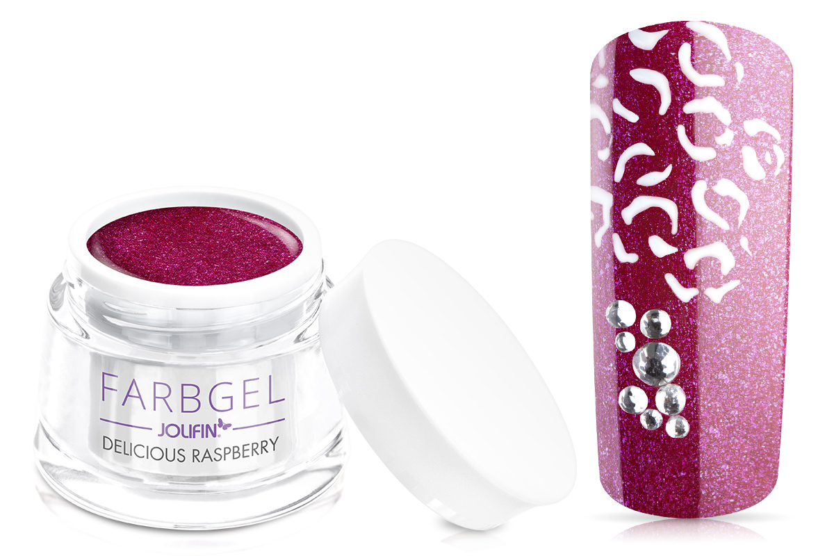 Jolifin Farbgel delicious raspberry 5ml