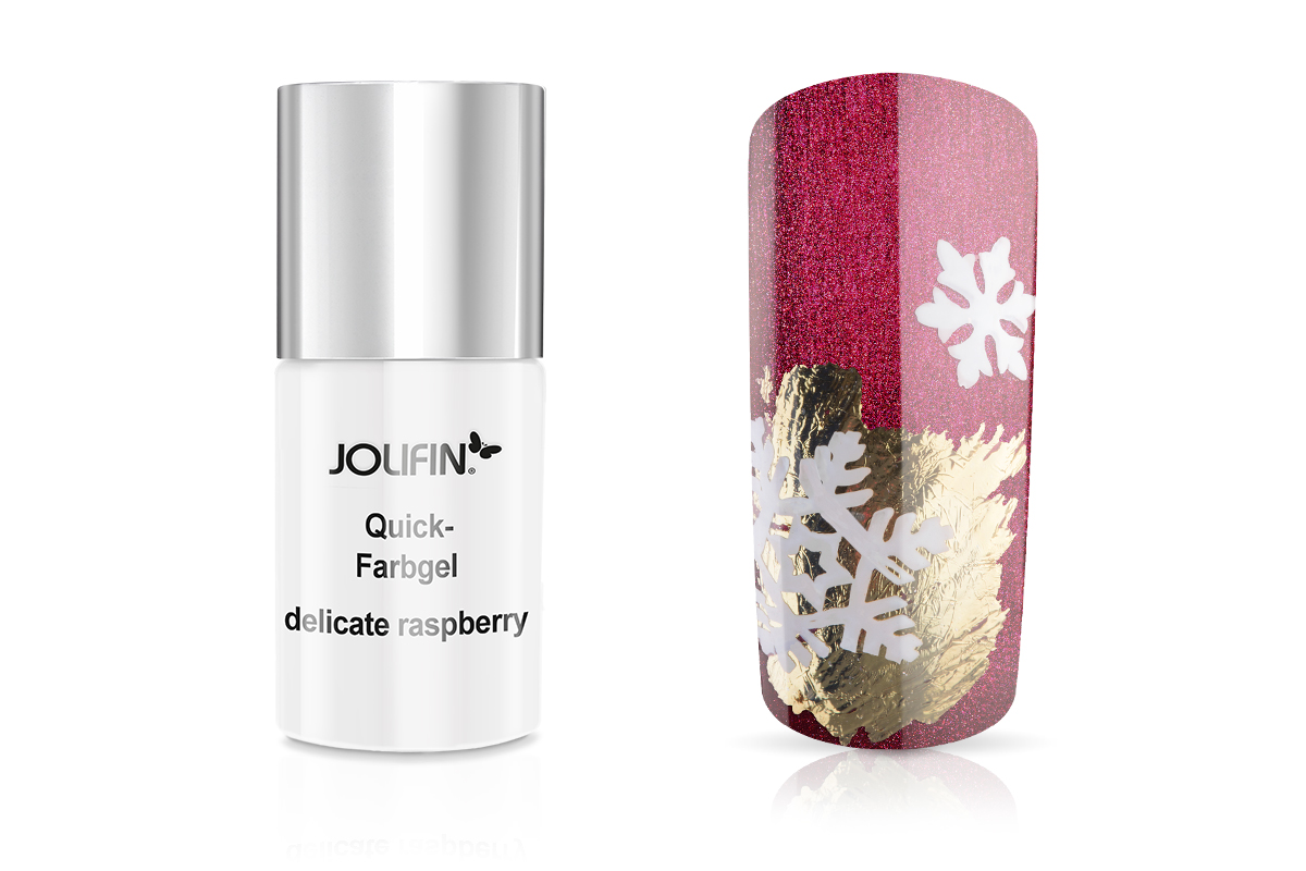 Jolifin Carbon Quick-Farbgel delicate raspberry 11ml