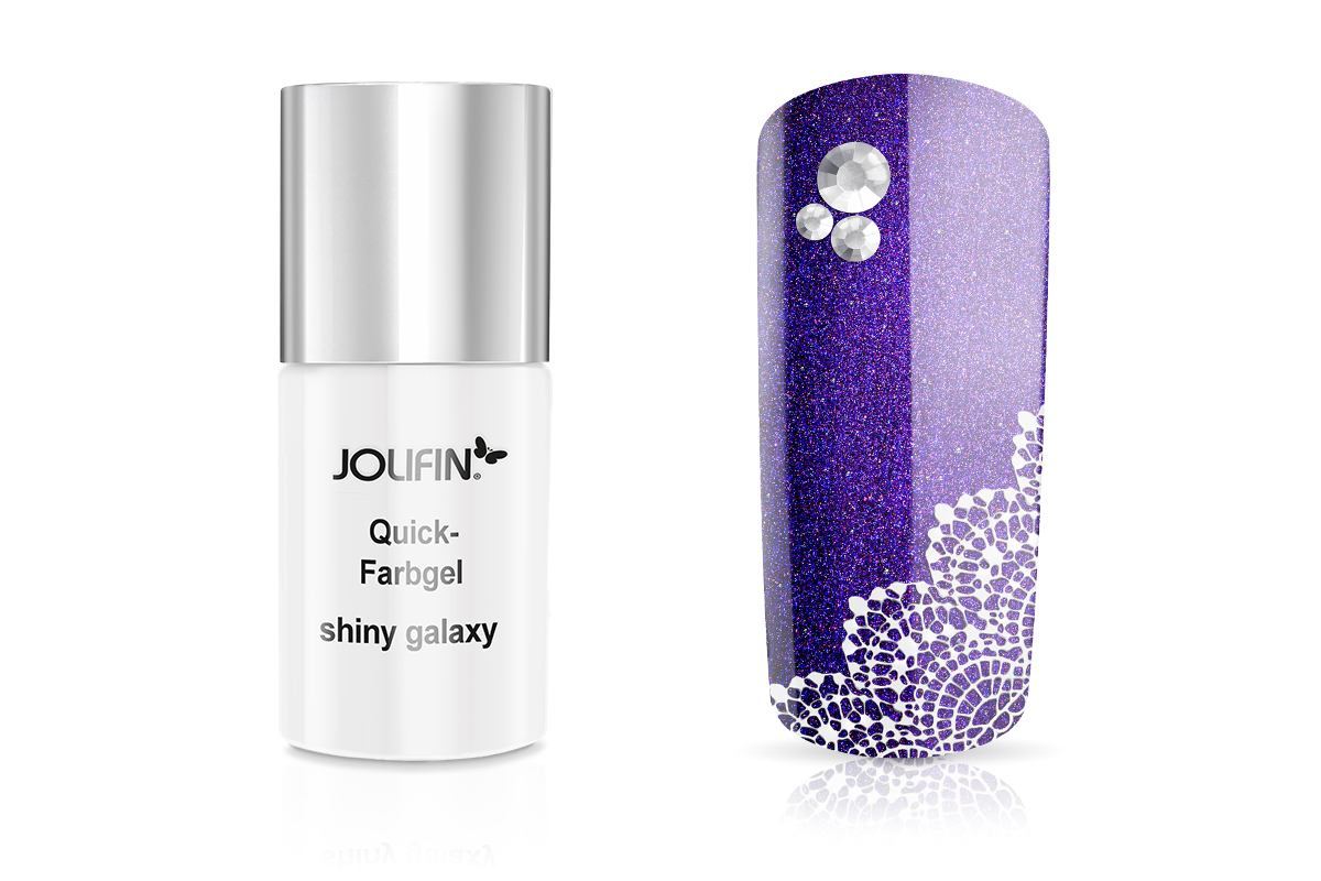 Jolifin Quick-Farbgel shiny galaxy 11ml
