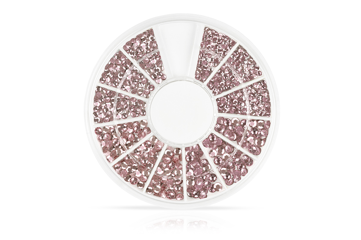 Jolifin Strass-Display - rose
