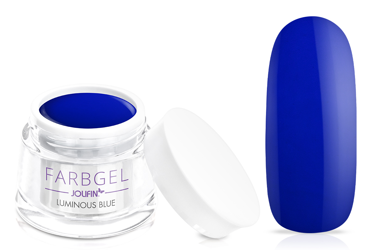 Jolifin Farbgel luminous blue 5ml