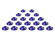 Swarovski Strasssteine - Meridian Blue irisierend - 2,7 mm