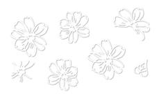 Jolifin LAVENI Sticker weiß - Nr. 1