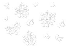 Jolifin LAVENI Sticker weiß - Nr. 4