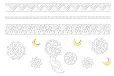 Jolifin LAVENI Sticker weiß - Nr. 5