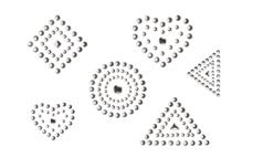 Jolifin LAVENI XL Sticker - Silver 1