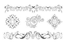 Jolifin LAVENI XL Sticker - Silver 2