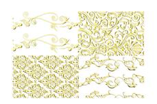 Jolifin LAVENI XL Sticker - Gold 3