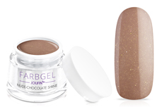 Jolifin Farbgel nude-chocolate shine 5ml
