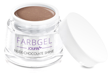 Jolifin Farbgel nude-chocolate shine 5ml