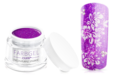 Jolifin Farbgel neon-purple sparkle 5ml