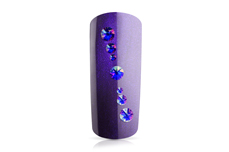 Jolifin LAVENI Strass-Display - FlipFlop purple & blue