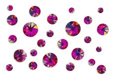 Jolifin LAVENI Strass-Display - FlipFlop pink & orange
