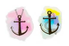 PNS24 Aquarell Tattoo Nr. 9