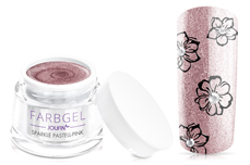 Jolifin Farbgel sparkle pastell-pink 5ml