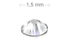 Jolifin LAVENI Strasssteine 500 Stück - clear 1,5mm