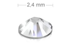 Jolifin LAVENI Strasssteine 500 Stück - clear 2,4mm