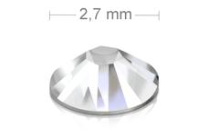 Jolifin LAVENI Strasssteine 500 Stk - clear 2,7mm