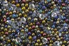 Jolifin LAVENI Luxury Pearls - gold black
