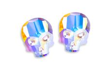 Swarovski Skull - crystal irisierend