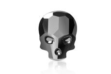 Swarovski Skull - hematite