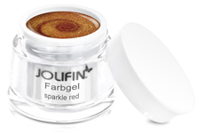 Jolifin Farbgel sparkle red 5ml