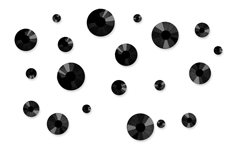 Jolifin LAVENI Strass-Display - black