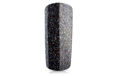 Jolifin Farbgel silver-black Glitter 5ml