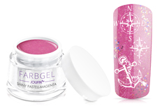 Jolifin Farbgel shiny pastell-magenta 5ml