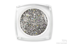 Jolifin LAVENI Farbgel - glossy silver 5ml