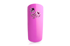 Jolifin LAVENI Strass-Display - fuchsia