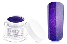 Jolifin Farbgel purple hologramm 5ml