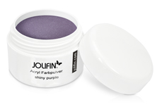 Jolifin Acryl Farbpulver - shiny purple 5g
