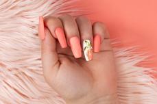 Jolifin LAVENI Diamond Dust - pastell-peach