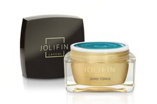 Jolifin LAVENI Farbgel - shiny türkis 5ml