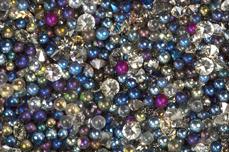 Jolifin LAVENI Luxury Pearls - dark blue
