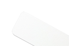 Jolifin Feile extra-breit weiß 100/180