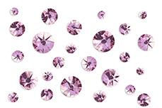 Jolifin LAVENI Strass-Display - lavender
