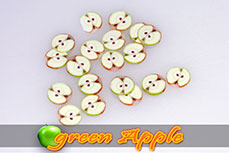 Fimo Frootys - green Apple