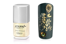 Jolifin Stamping-Lack - shiny champagne 12ml