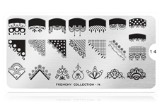 MoYou-London Schablone Frenchy Collection 14