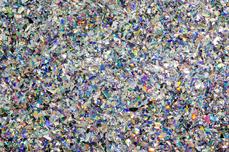 Jolifin LAVENI Diamond Flakes - silver hologramm