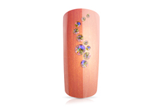 Jolifin LAVENI Strass-Display - apricot irisierend