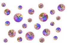Jolifin LAVENI Strass-Display - rosy irisierend