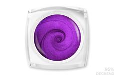 Jolifin LAVENI Farbgel - violet Glimmer 5ml